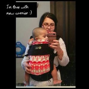 Babywearing_Bobacarrier
